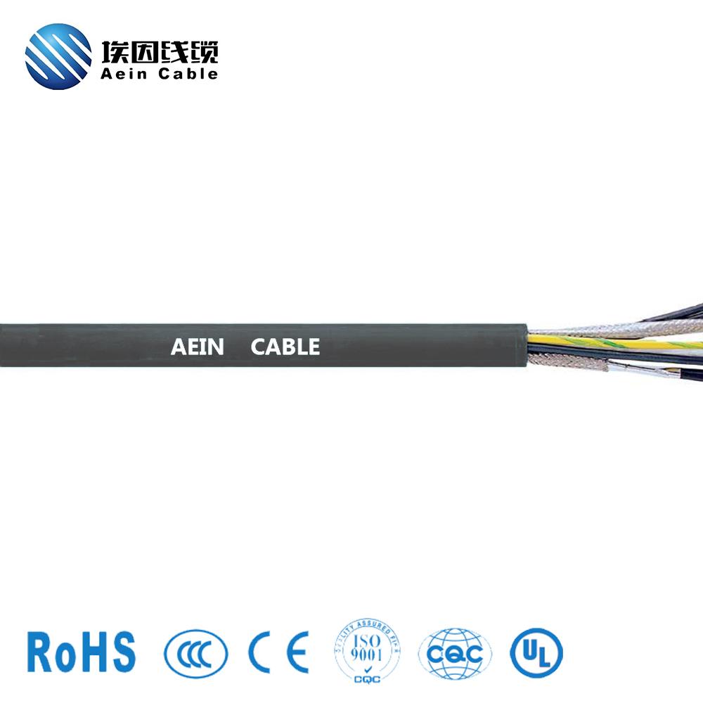 PUR伺服电机连接与控制系统电缆