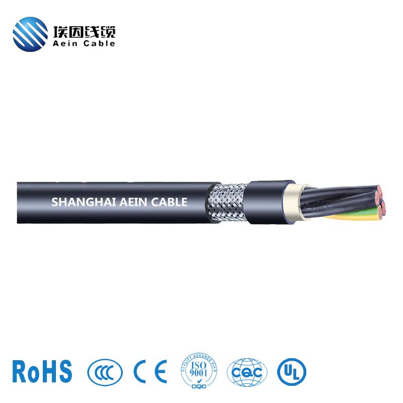 PVC屏蔽型传感器电缆