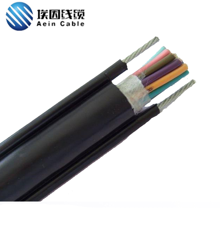 RVV2G双钢丝葫芦手柄电缆
