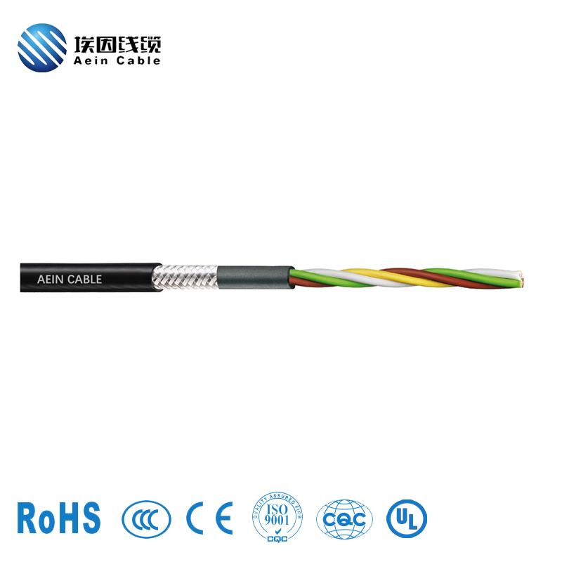 AC-Flex813柔性双绞双护套屏蔽拖链电缆