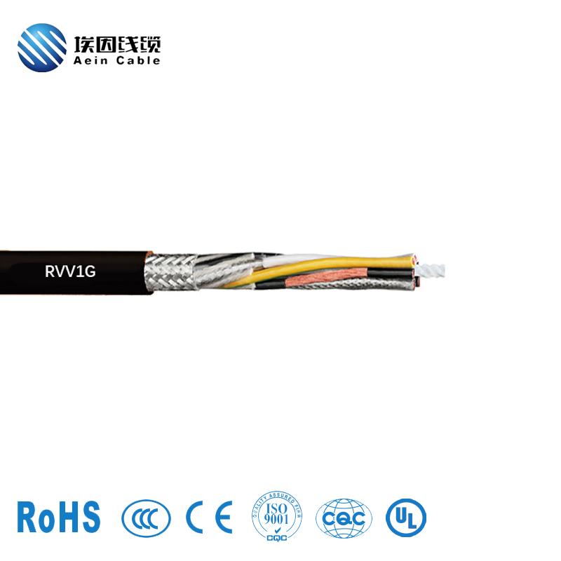 RVV1G单钢丝葫芦手柄电缆